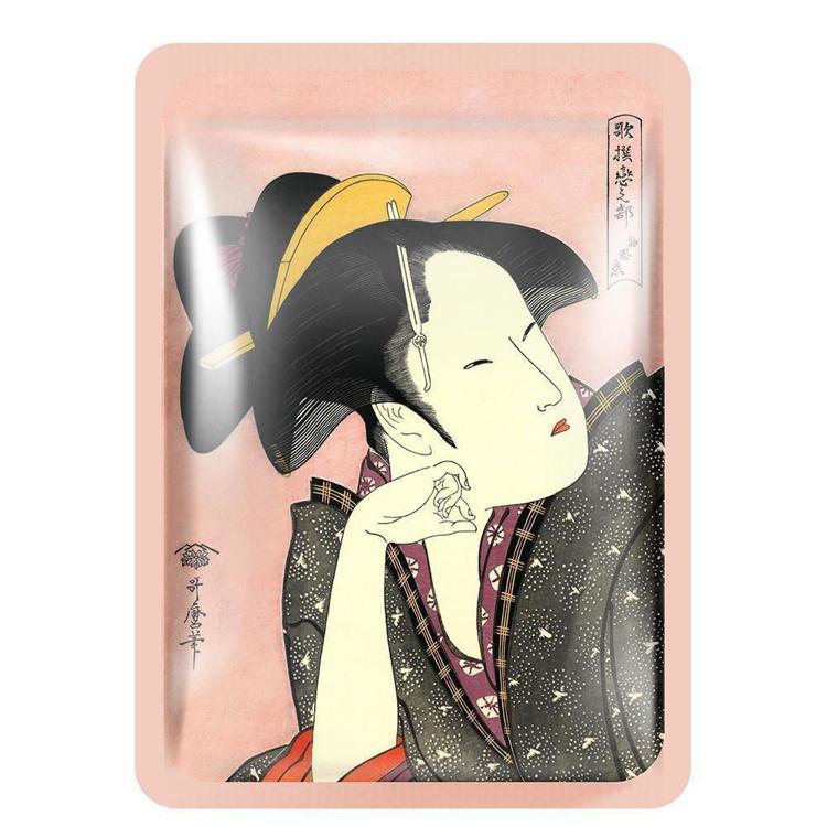 Изображение на ШИЙТ МАСКА С МАТЧА MITOMO Camellia Matcha Essence Mask 25г