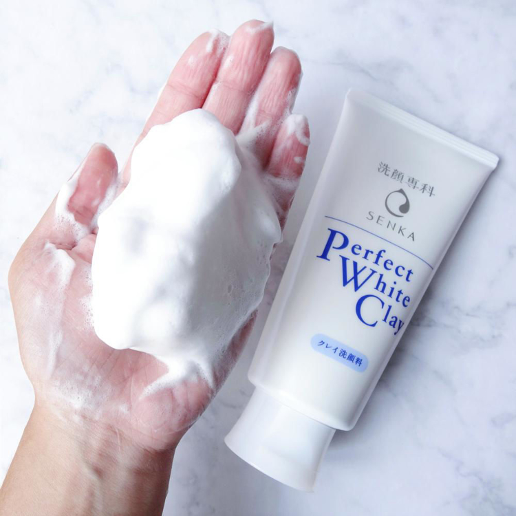 Picture of Shiseido Senka Perfect White Clay Cleansing Foam 120g