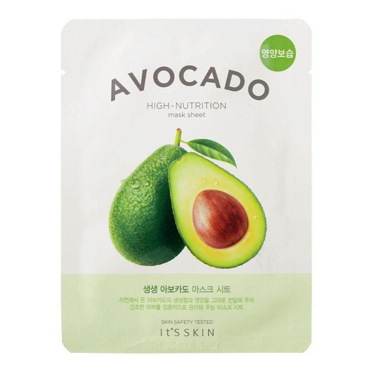 Изображение на ШИЙТ МАСКА С АВОКАДО  It'S SKIN  The Fresh Mask Sheet  Avocado 21г