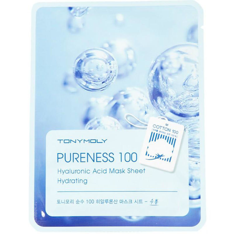 Picture of TONYMOLY  Pureness 100 Mask Sheet Hyaluronic Acid 21ml