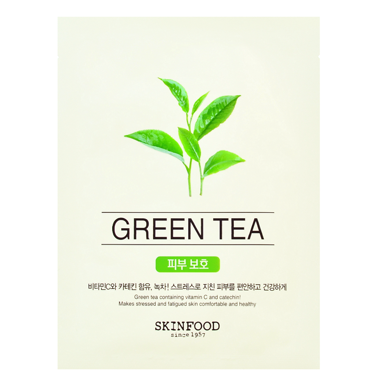 Picture of SKINFOOD Beauty in a Food Mask Sheet Green Tea 20ml