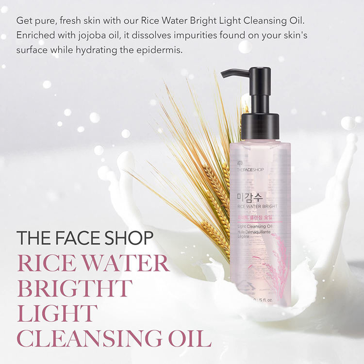Picture of  The Face Shop Rice Water Bright Light Cleansing Oil 150ml
