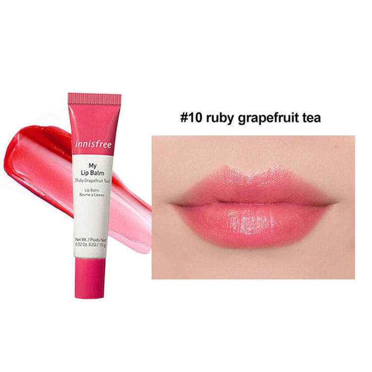 Picture of Innisfree My Lip Balm- Ruby Grapefruit Tea 15g