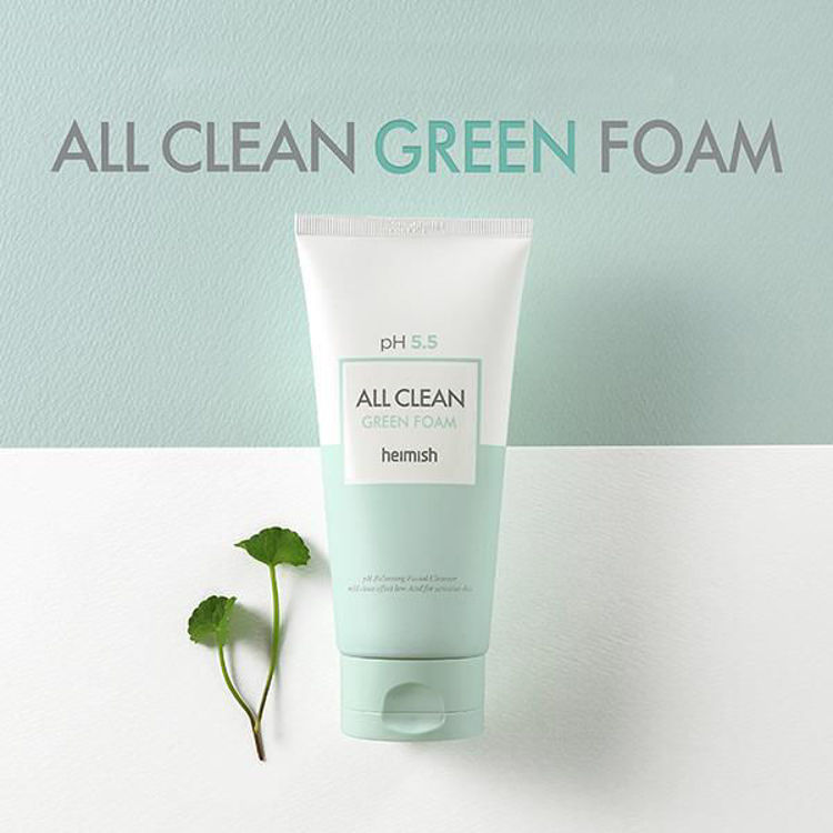 Picture of Heimish All Clean Green Foam pH 5.5 150ml