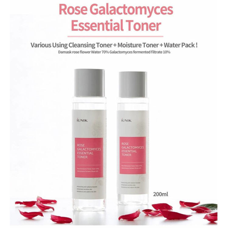 Picture of IUNIK Rose Galactomyces Essential Toner 200ml