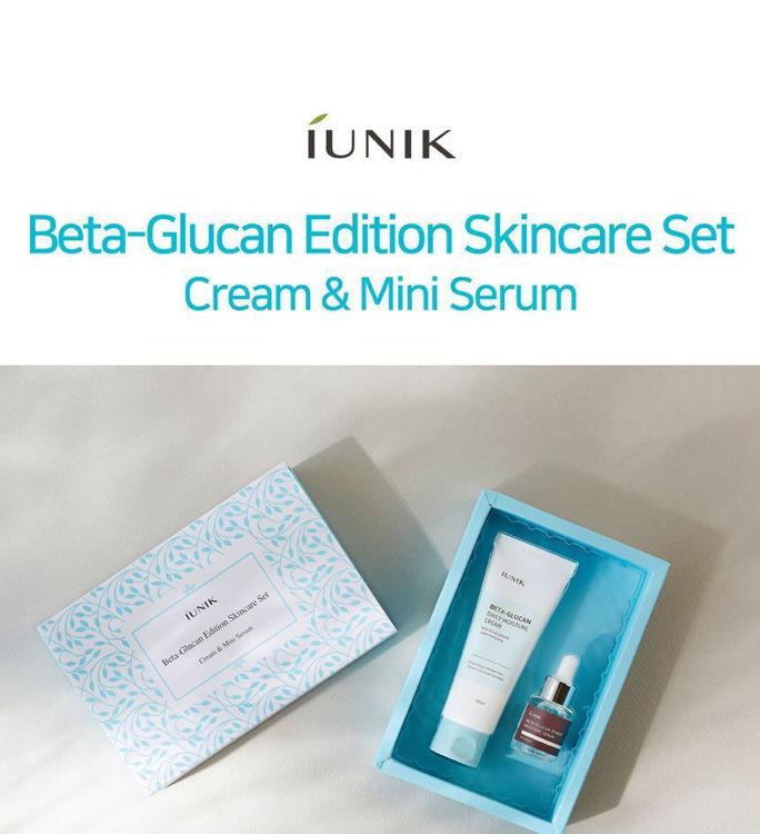 Изображение на СПЕЦИАЛЕН КОМПЛЕКТ БЕТА-ГЛЮКАН IUNIK Beta-Glucan Edition Skincare Set