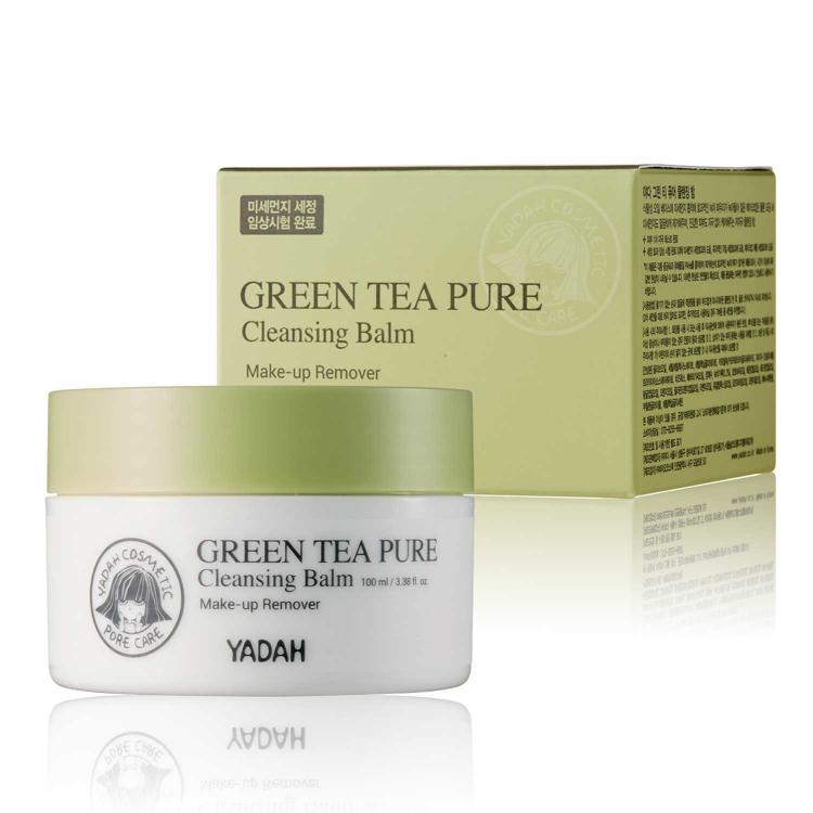 Изображение на ПОЧИСТВАЩ БАЛСАМ ЗА ЛИЦЕ YADAH Green Tea Pure Cleansing Balm 100мл
