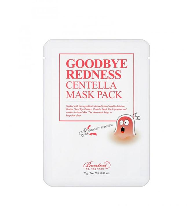 Изображение на ШИЙТ МАСКА ПРОТИВ РАЗДРАЗНЕНИЯ  Benton Goodbye Redness Centella Mask Pack 23г